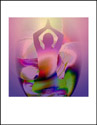Padmasana, Lotus Pose, Yoga Art Yoga Art, Yoga pose, Yoga pose art, Healing art, metaphysical art, sacred space art, sacred space healing, meditation, meditation art